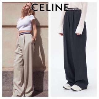 celine - CELINE セリーヌ ロゴパンツ パンツ チャンキー クロンビー