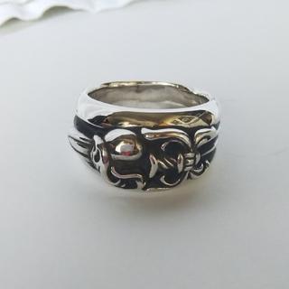 クロムハーツ(Chrome Hearts)のダガーハートリング 17号(リング(指輪))
