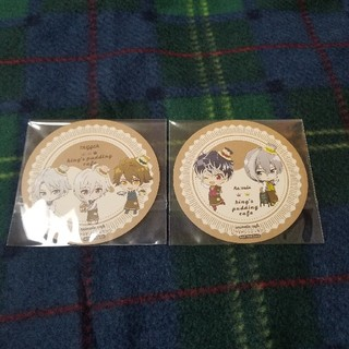 バンダイ(BANDAI)のアイナナ アニカフェ コースター 2枚セット(その他)