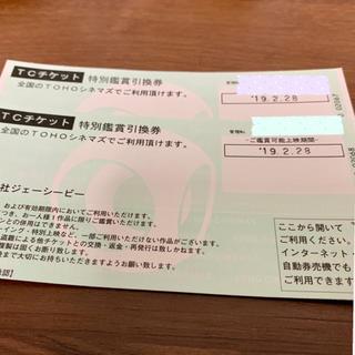 トーホーシネマズ TCチケット2枚(その他)