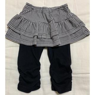 ニシマツヤ(西松屋)のスカッツ  サイズ80 (7分丈)(パンツ)