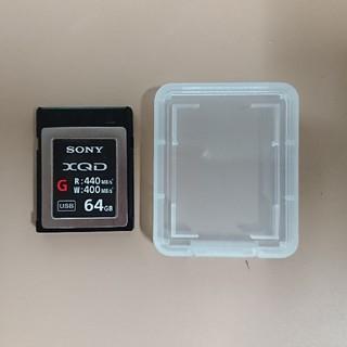 SONY - SONY XQDカード 64GB QD-G64E 中古