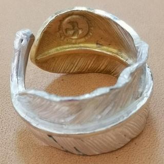 ゴローズ(goro's)の■ラクマ限定特価 極美品■ 先金 特大フェザーリング (リング(指輪))