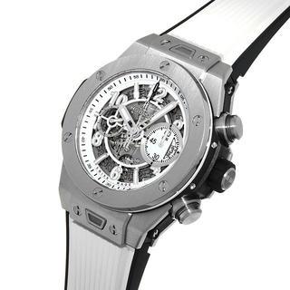 ウブロ(HUBLOT)のウブロ ビッグバン ウニコ ブラック&ホワイト(腕時計(アナログ))
