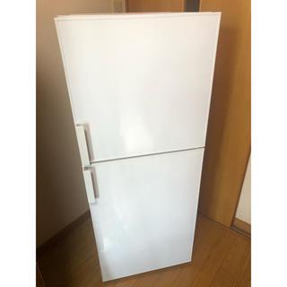 無印良品 2ドア冷蔵庫 冷凍冷蔵庫 137L ホワイト