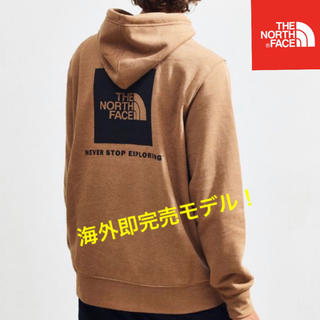 THE NORTH FACE - 海外限定 THE NORTH FACE BOX LOGO パーカー ケルプタン風
