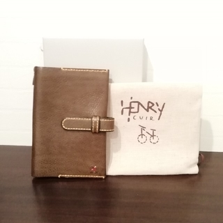 エンリーべグリン(HENRY BEGUELIN)のHENRY CUIR ほぼ日 手帳カバー(その他)