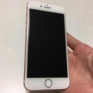 アイフォーン(iPhone)の即購入OK SIMフリー iPhone7 128GB rosegold(スマートフォン本体)