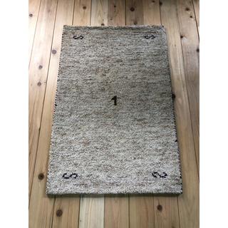 mahalo様専用 ウールギャベ 60×90cm 玄関マットサイズ 新品未使用(玄関マット)