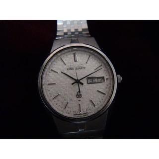 セイコー(SEIKO)のセイコーキングクオーツの腕時計 メンズ (腕時計(アナログ))