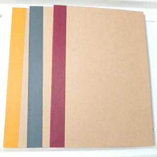 MUJI (無印良品) - 無印良品 裏うつりしにくいノート三冊セット