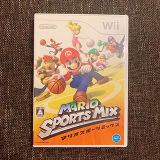 ウィー(Wii)のwii マリオスポーツミックス(家庭用ゲームソフト)