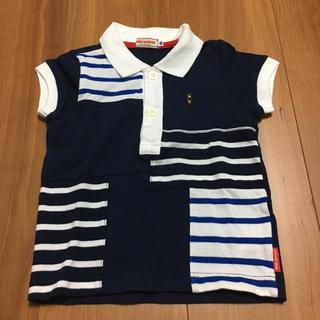 mikihouse - 水通しのみ★ミキハウス ポロシャツ 80