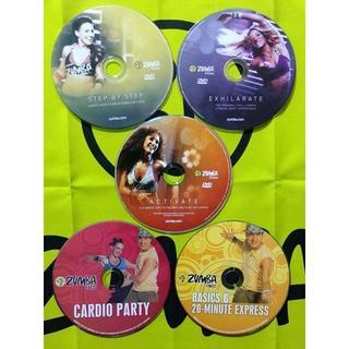 ズンバ(Zumba)のTT7773さま専用 ZUMBA ズンバ DVDセット(スポーツ/フィットネス)