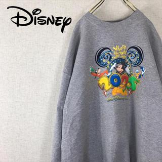 ディズニー(Disney)のディズニー Disney スウェット トレーナー ビッグシルエット メキシコ製(スウェット)