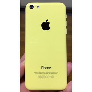アイフォーン(iPhone)のiPhone5c イエロー 16GB 美品 ★ スマホ docomo(スマートフォン本体)