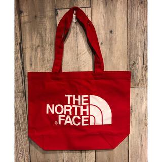 THE NORTH FACE - ノースフェイス ノベルティ トートバッグ 2019 限定 新品未使用 レッド