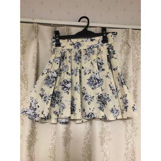 ローリーズファーム(LOWRYS FARM)の花柄スカート【LOWRYS FARM】(ミニスカート)