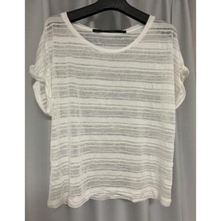 バークタンネイジ(BARK TANNAGE)のBark Tannage シースルーボーダーT(Tシャツ(半袖/袖なし))