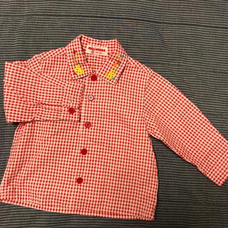 ミキハウス(mikihouse)のミキハウス チェックシャツ(シャツ/カットソー)