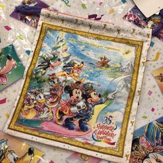 ディズニー(Disney)の⭐︎ディズニー35周年限定巾着⭐︎(キャラクターグッズ)
