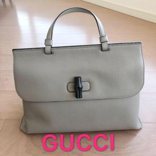 グッチ(Gucci)のGUCCI グッチ  BAMBOO DAILY のトートバッグ ハンドバッグ(トートバッグ)
