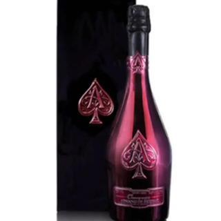 アルマンドブリニャック  赤とシルバー二本セット新品(シャンパン/スパークリングワイン)