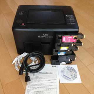 エヌイーシー(NEC)のNEC カラーレーザープリンター MultiWriter 5600C(PC周辺機器)