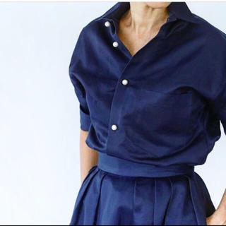 マディソンブルー(MADISONBLUE)のMADISON BLUE パールボタンシャツ アパルトモン ドゥーズィエムクラス(シャツ/ブラウス(長袖/七分))