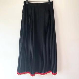 Chesty - 新品╰(*´︶`*)♡ Cindi Bendi 裾ライン ロングプリーツスカート