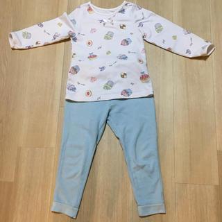ジーユー(GU)のGU スイーツ柄パジャマ110cm(パジャマ)