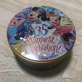 ディズニー(Disney)の未開封☆ディズニー35周年 お菓子缶 お土産(菓子/デザート)