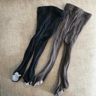 シマムラ(しまむら)の【送料込み】リブタイツ 2点セット(靴下/タイツ)