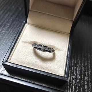 クロムハーツ(Chrome Hearts)のクロムハーツベイビークラッシックリングダイヤパヴェ(リング(指輪))