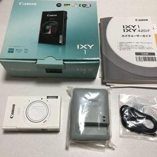 キヤノン(Canon)の《美品》ixy1 Wi-Fi、タッチパネル付き(コンパクトデジタルカメラ)