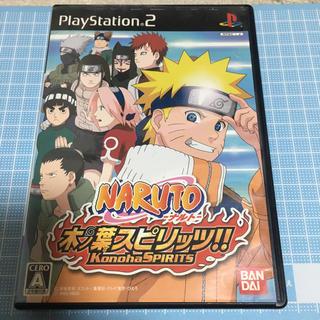 PlayStation2 - NARUTO ナルト 木の葉スピリッツ!! PS2 PlayStation2