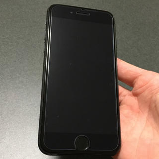 アイフォーン(iPhone)の即購入OK SIMフリー iPhone7 128GB matblack(スマートフォン本体)