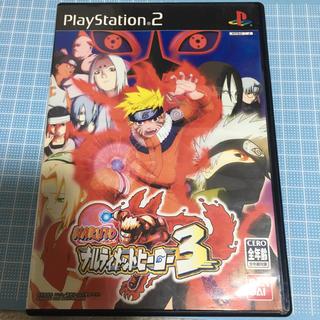 PlayStation2 - NARUTO ナルト ナルティメットヒーロー3 PlayStation2 ps2