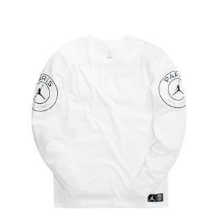 ナイキ(NIKE)のPSG ジョーダン 長袖Tシャツ Mサイズ ロンT(Tシャツ/カットソー(七分/長袖))