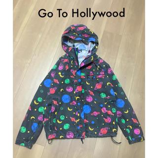 ゴートゥーハリウッド(GO TO HOLLYWOOD)のGo to Hollywood 宇宙柄マウンテンパーカー01(150)(ジャケット/上着)