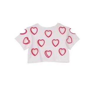 ハニーミーハニー(Honey mi Honey)のheartcutting mini T-shirt 西野カナ 着用 (Tシャツ(半袖/袖なし))