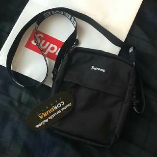 シュプリーム(Supreme)のsupreme shoulder bag black   (ショルダーバッグ)