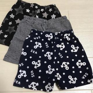 ニシマツヤ(西松屋)のショートパンツ 3枚 90サイズ 保育園 お着替えなど(パンツ)