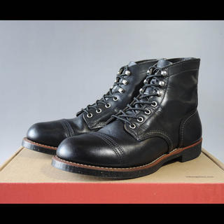 レッドウィング(REDWING)のレッドウィング8114アイアンレンジ8.5Dベックマン9014セッター(ブーツ)