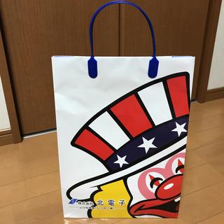 キタデンシ(北電子)のジャグラー 紙袋(非売品)(パチンコ/パチスロ)