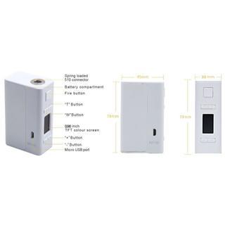 アスパイア(aspire)のAspire NX100 MOD レッド&EFEST 26650 5000mAh(タバコグッズ)