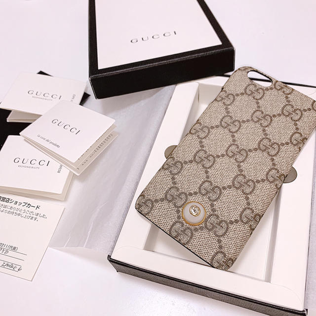 Gucci - GUCCI iPhoneケースの通販 by 🎀🎶|グッチならラクマ