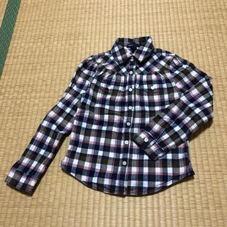 ギャップキッズ(GAP Kids)の【110-120㎝】GAP kids 長袖チェックシャツ(ブラウス)