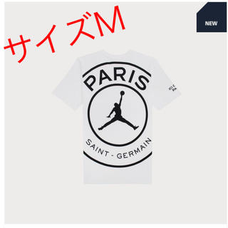 NIKE - 【新品未使用】パリサンジェルマン ジョーダン ロゴ Tシャツ 白 M