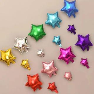 誕生日星バルーンスター風船(ウェルカムボード)